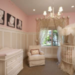 Quarto de bebê decorado feminino
