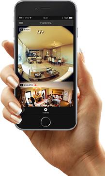monitoramento com câmera espiã no celular
