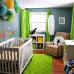 quarto de bebe cinza e outra cor