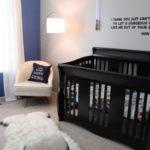 quarto de bebe escuro