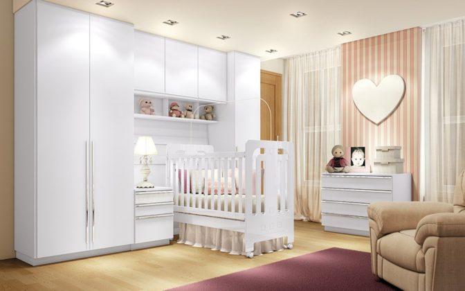 quarto de bebe modulado