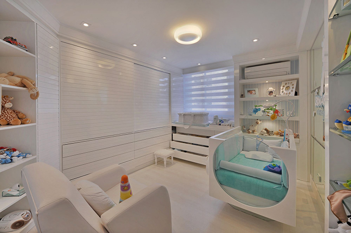 Famosos Quarto de bebê planejado - Como planejar, +100 Fotos e dicas  CJ69