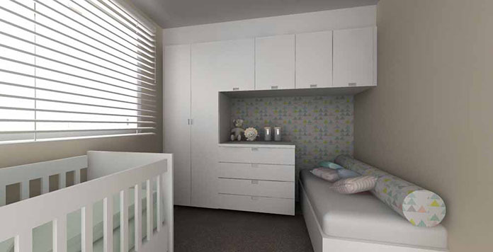 quarto de bebe planejado