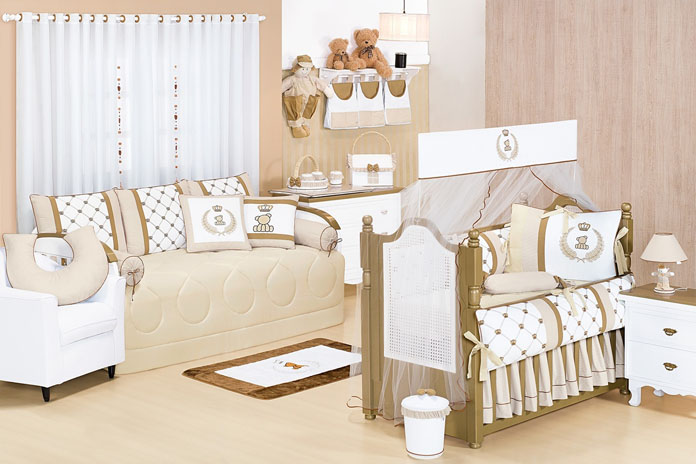 quarto de bebê decorado tema ursinhos