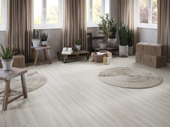 Carpete de madeira