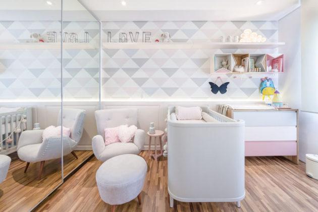 Guarda-roupa planejado para quarto infantil