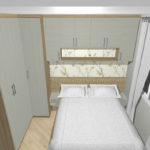 Guarda-roupa planejado para quarto pequeno