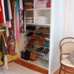 Guarda-roupas planejados com sapateira