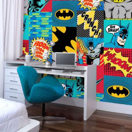 Papel de parede para quarto de jovem