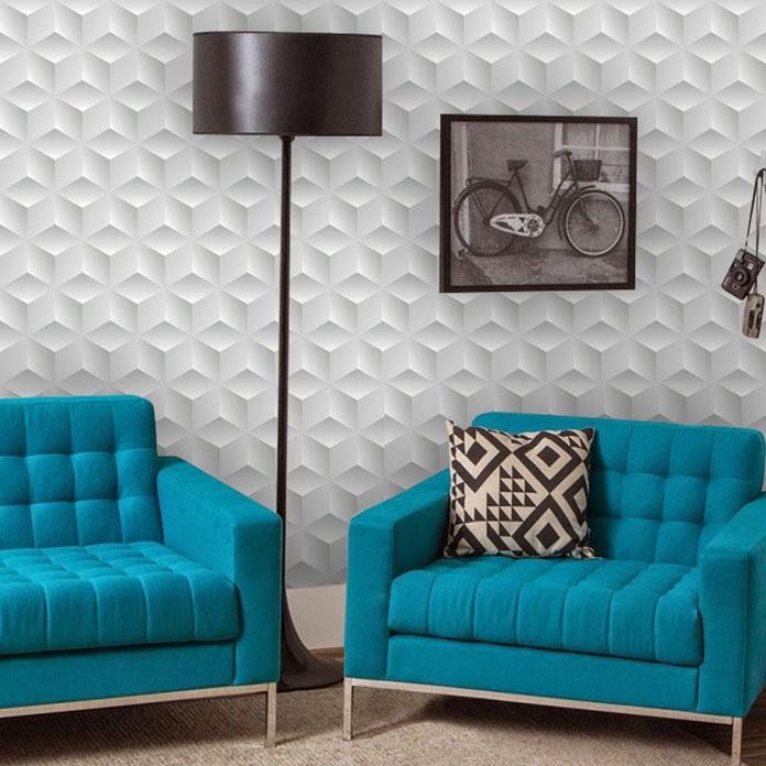 Papel de parede para sala 3d 07 for Papel de pared rustico