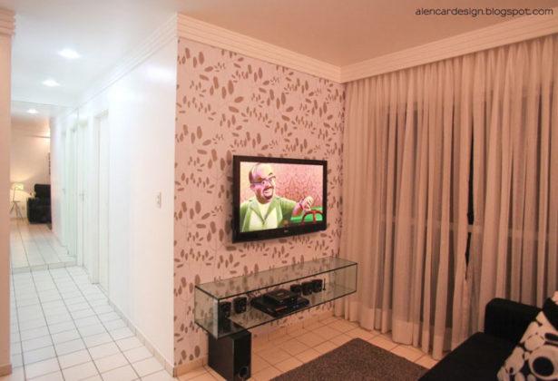 Papel de parede para sala pequena