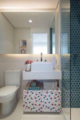 banheiro lavado decorado