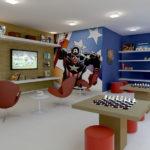 decoração sala de jogos