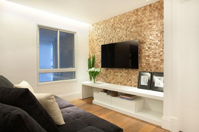 Decoracao sala pequena 11 for Comedor y sala de estar decorados