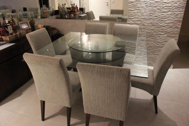 mesa de jantar 6 lugares quadrada