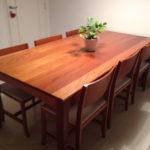 mesa de jantar 6 lugares de madeira