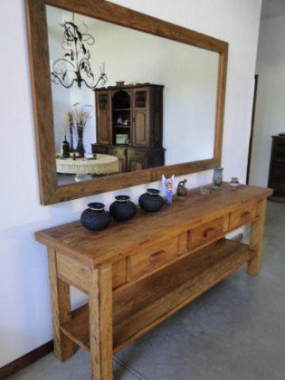 Aparador rústico ou de madeira