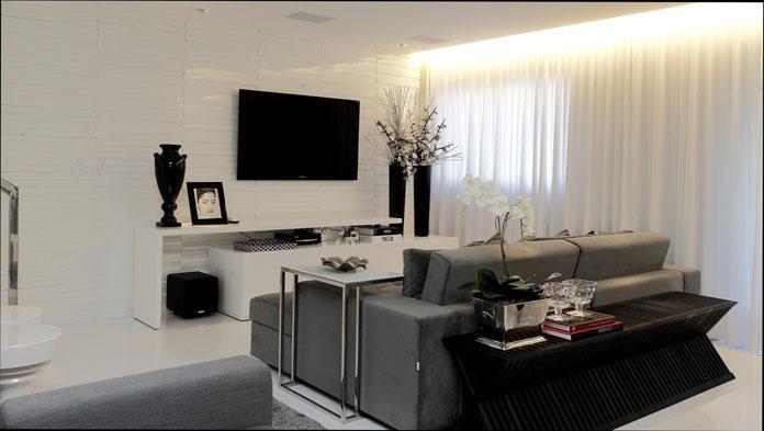Cores da sua sala de estar