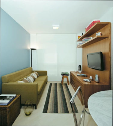 Decoração de sala de estar pequena