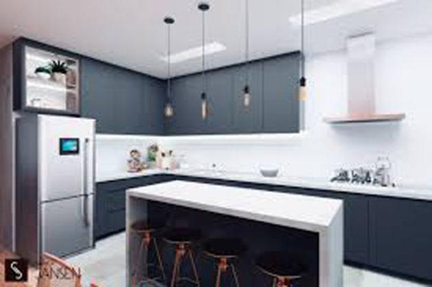 Decoração minimalista para cozinha