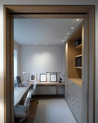 Decoração minimalista para escritório