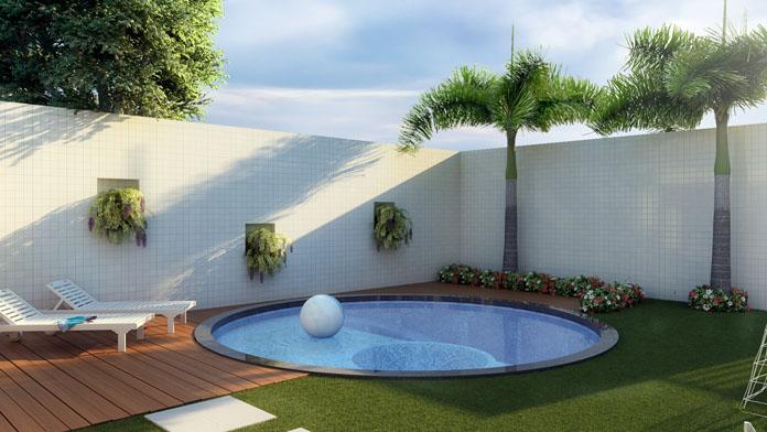 Jardim simples