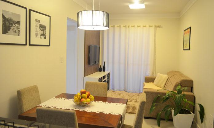 Sala de estar e Sala de jantar