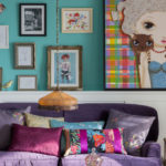 decoracao com Almofadas coloridas