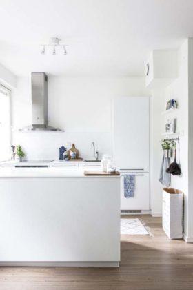 Decoração escandinava para cozinha