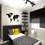 Decoração industrial para quarto