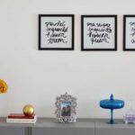 Quadros decorativos com frases