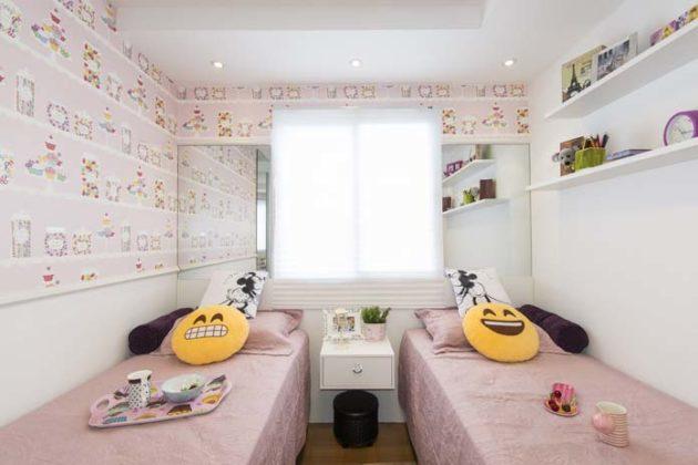 Quartos de apartamento pequeno