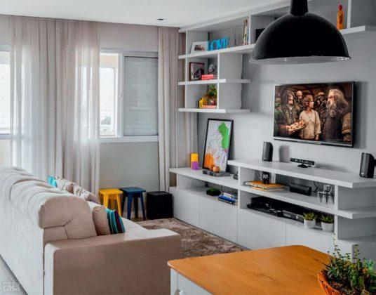 Sala de apartamento pequeno