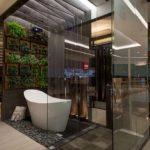 Sala de banho com banheira