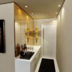 decoração para apartamento pequeno com espelho