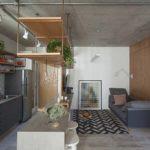 sala estilo industrial