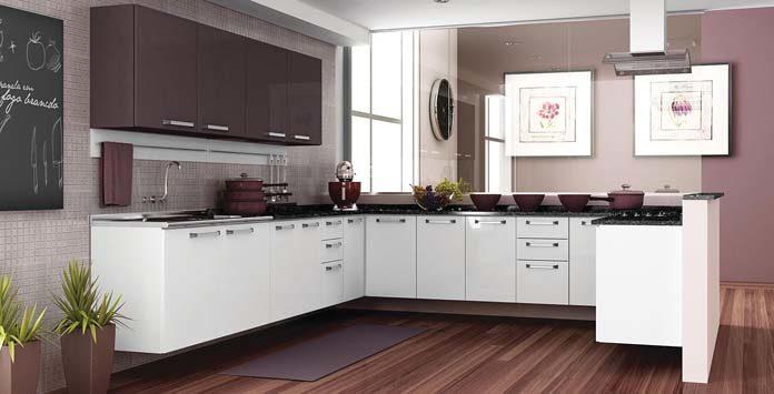 Armário de cozinha completo