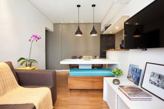 Decoração clean para apartamento pequeno