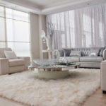 Decoração clean para sala