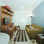 Decoração de sala pequena simples