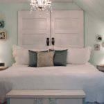 decoração para cama com cabeceira