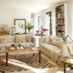 sala decorada com sofá