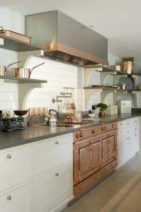 Decoração Rose Gold para cozinha