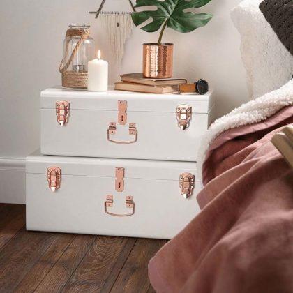 Decoração Rose Gold para quarto