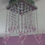 Lustre de cristal para quarto