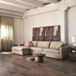 Salas com piso amadeirado