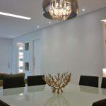 lustre de cristal na decoração
