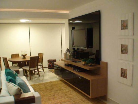 decoraçao Sala de TV pequena