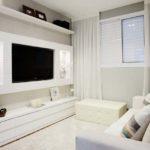 decoraçao Sala de TV com painel