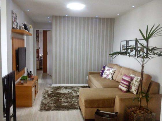 decoraçao Sala de TV simples